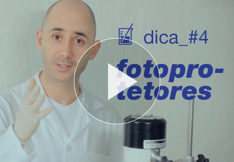 [ vídeo ] Dica técnica #4: homogeneização de fotoprotetores