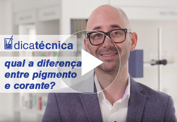[ vídeo ] Qual a diferença entre pigmento e corante?